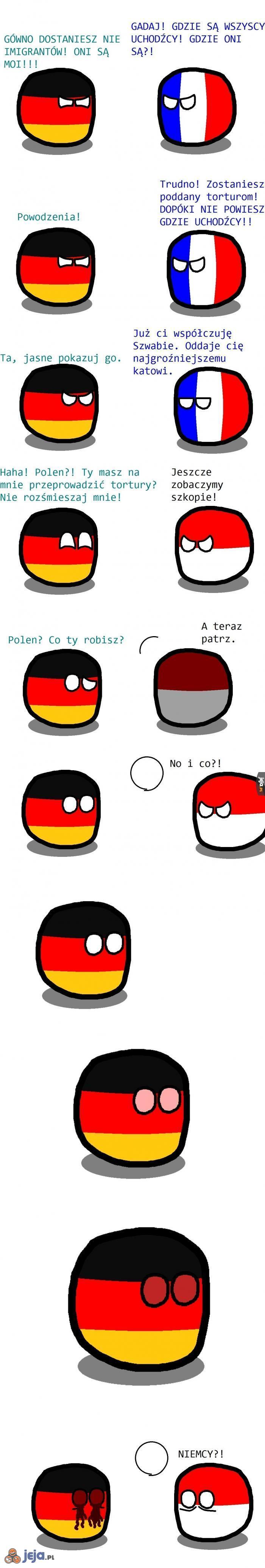 Niedoskonały okrąg - najlepsza broń na Niemców