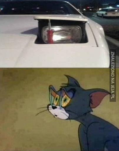 Taki śpiący samochodzik