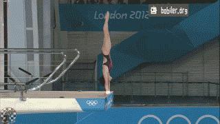 Bardziej widowiskowe skoki do wody