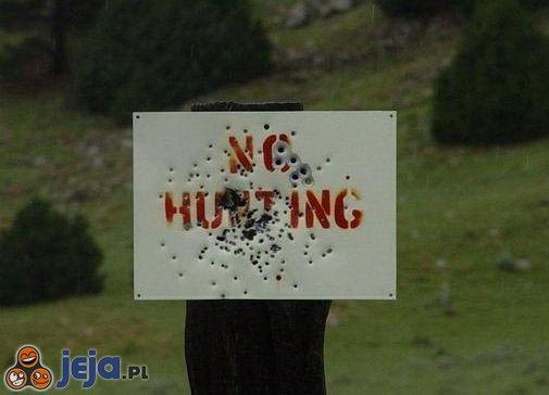 Zakaz polowania