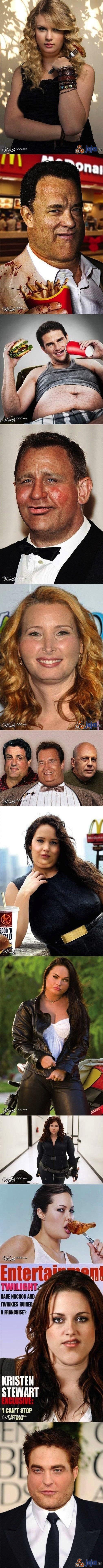 Aktorzy po fast foodach