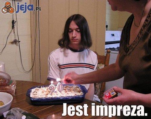 Wystrzałowa urodzinowa impreza