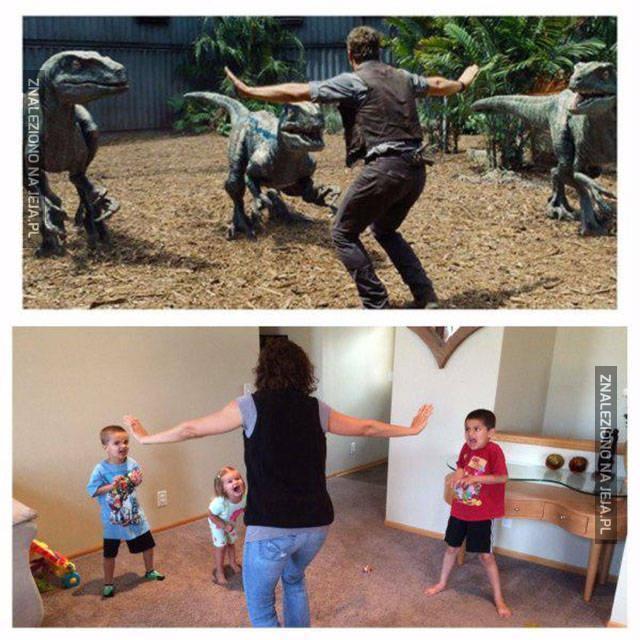 Dzieci są gorsze niż dinozaury