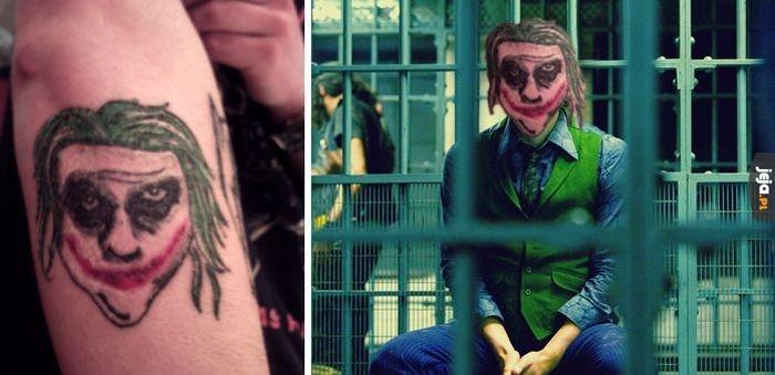 Taki realistyczny tatuaż...