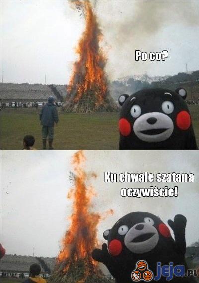 Świetny powód na ognisko!