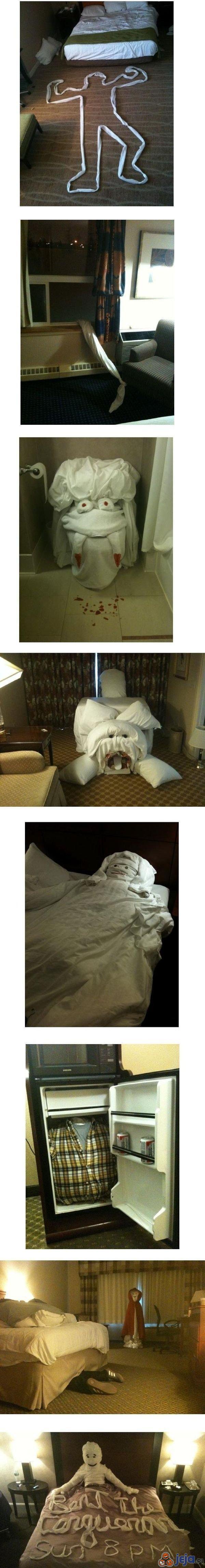 Hotelowe niespodzianki