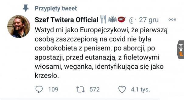 Wstyd przed całą Europą