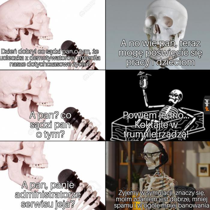 Wywiad ze szkieletami