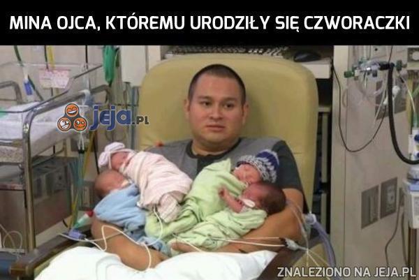 Gratulacje dla tatusia!