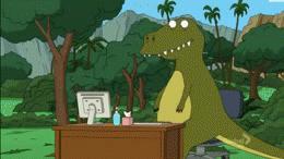 Dlaczego T-rex jest wkurzony