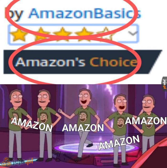 Po prostu Amazon...