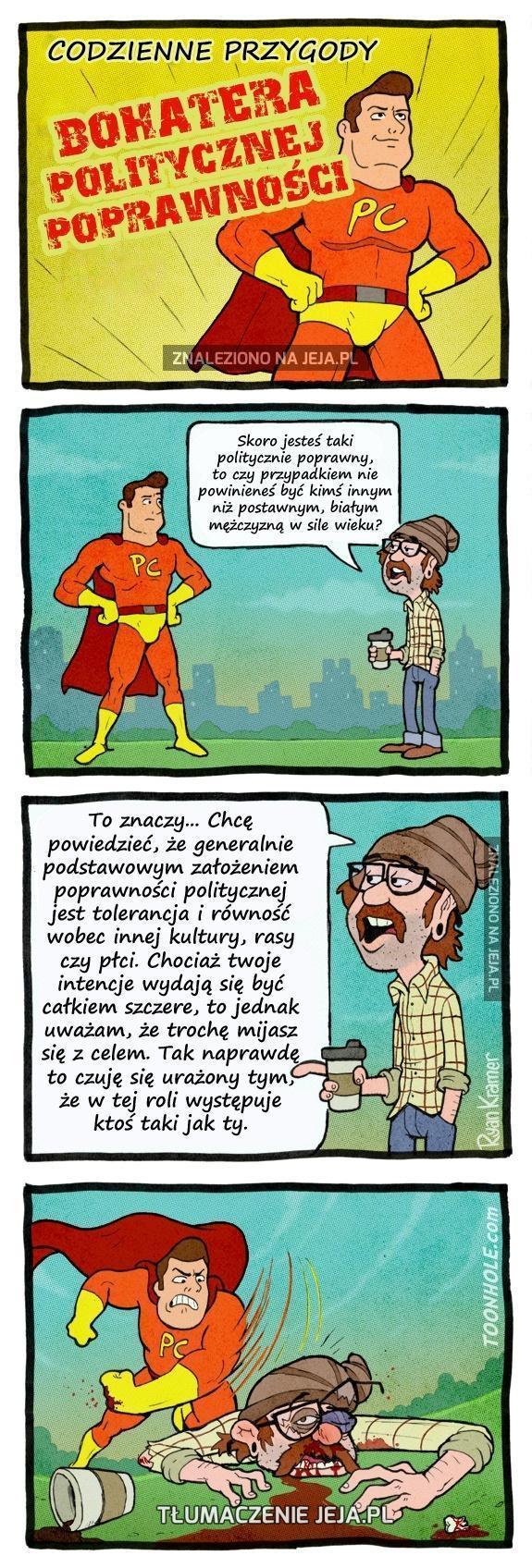 Bohater politycznej poprawności