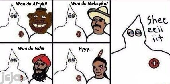 I weź tu człowieku bądź rasistą...