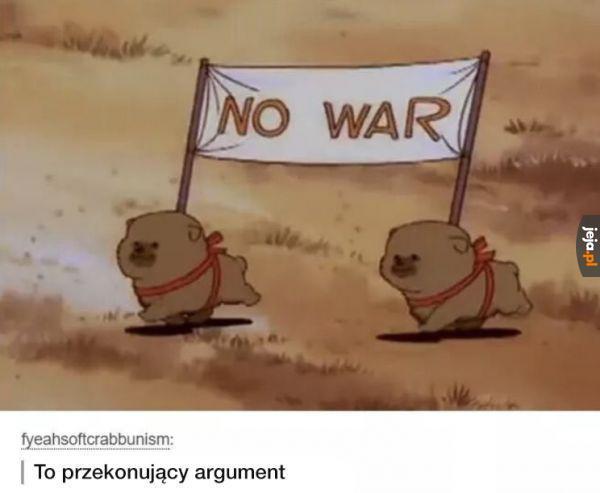 Jak zaprowadzić pokój na świecie