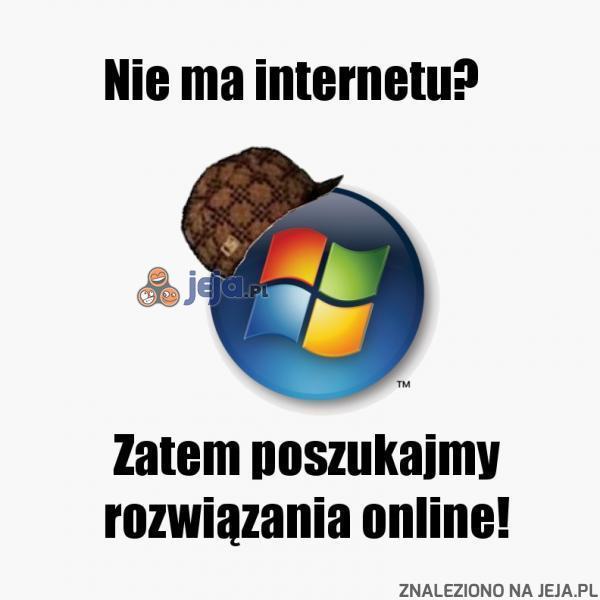 Nie ma internetu?