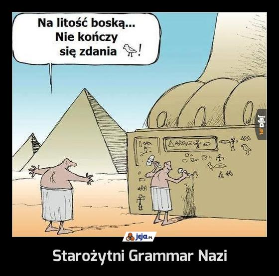 Starożytni Grammar Nazi