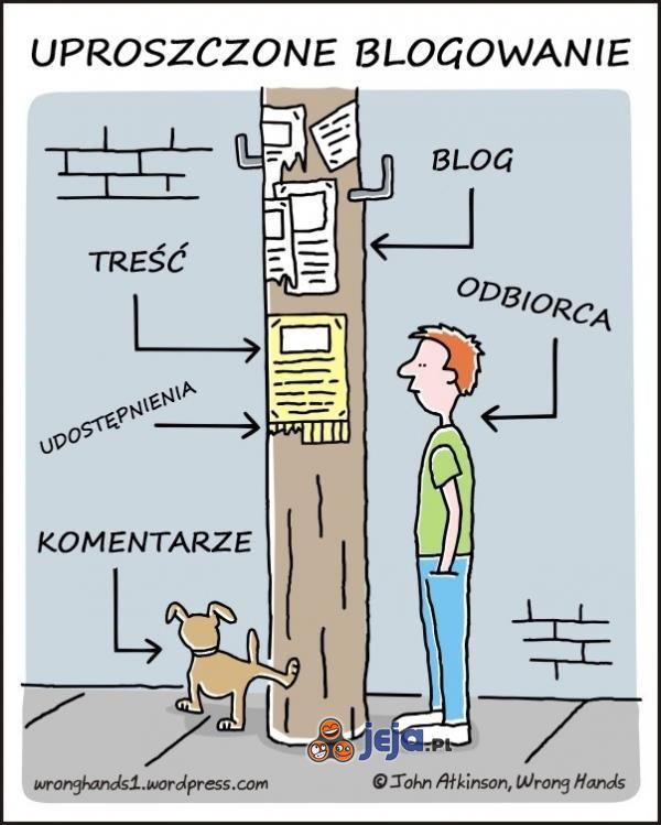 Tak wygląda funkcjonowanie bloga