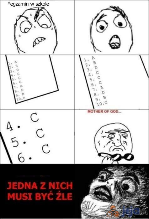 Dylemat na teście