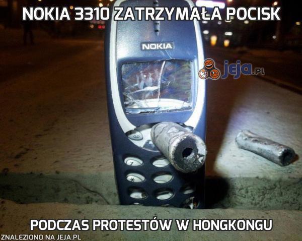 Nokia 3310 zatrzymała pocisk