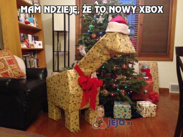Mam ndzieję, że to nowy Xbox