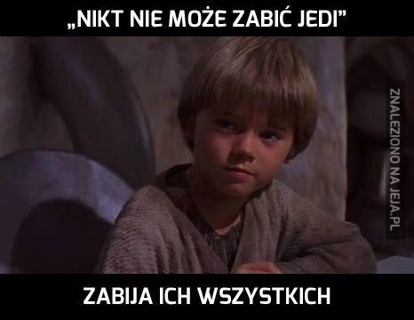 Anakin, nieładnie...
