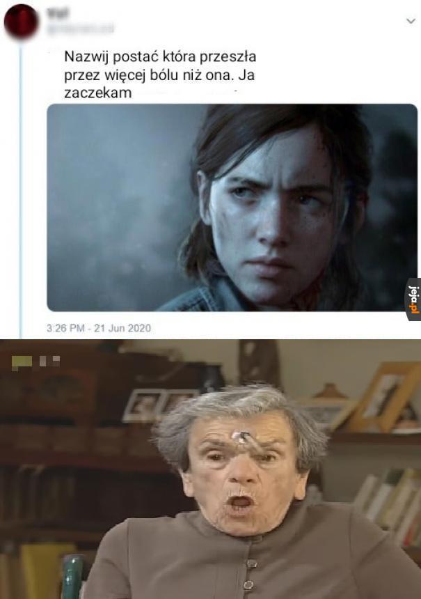 Biedaczka z tej Babki