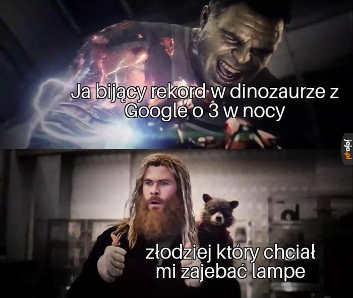 Po co mu ta lampa?