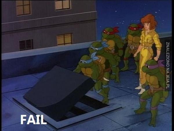 Epicki fail w kreskówce