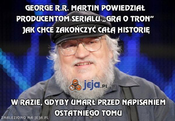 George R.R. Martin powiedział już producentom Gry o Tron