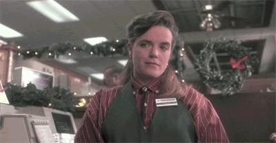 Batman na świątecznych zakupach
