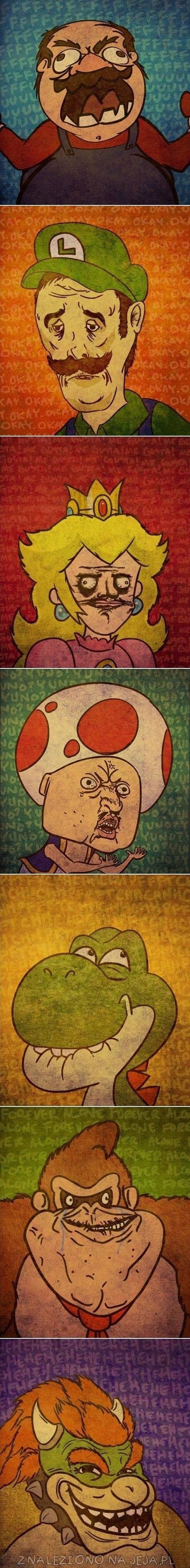 Postacie z Mario