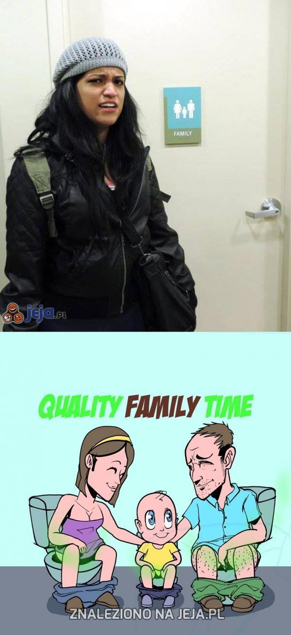 Rodzinna toaleta...?