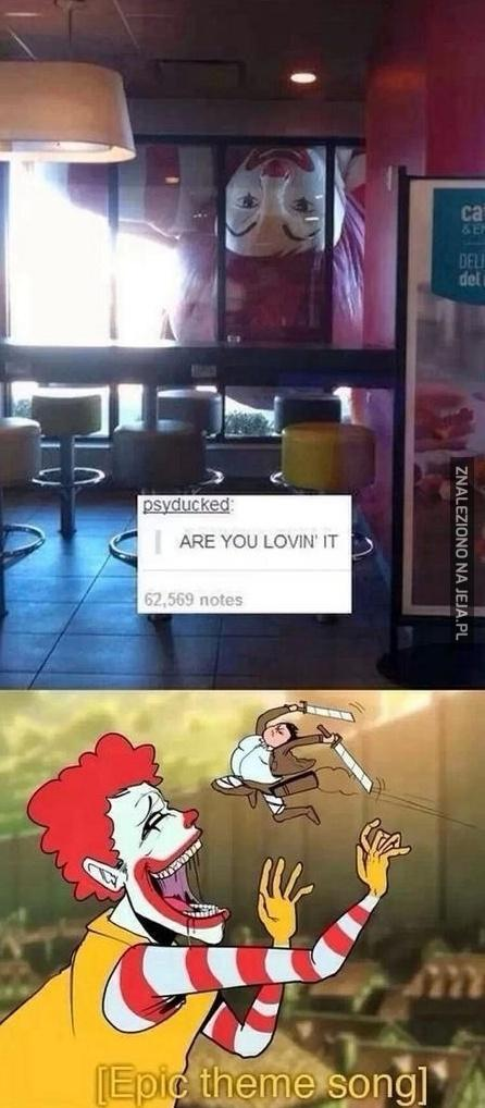 Gigant w McDonald's