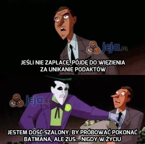 Nawet Joker zna granice