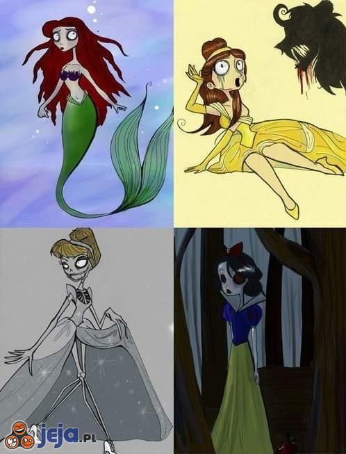 Księżniczki z innej bajki...