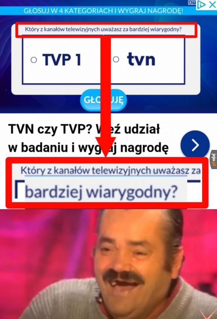 Wiarygodne TVP lol