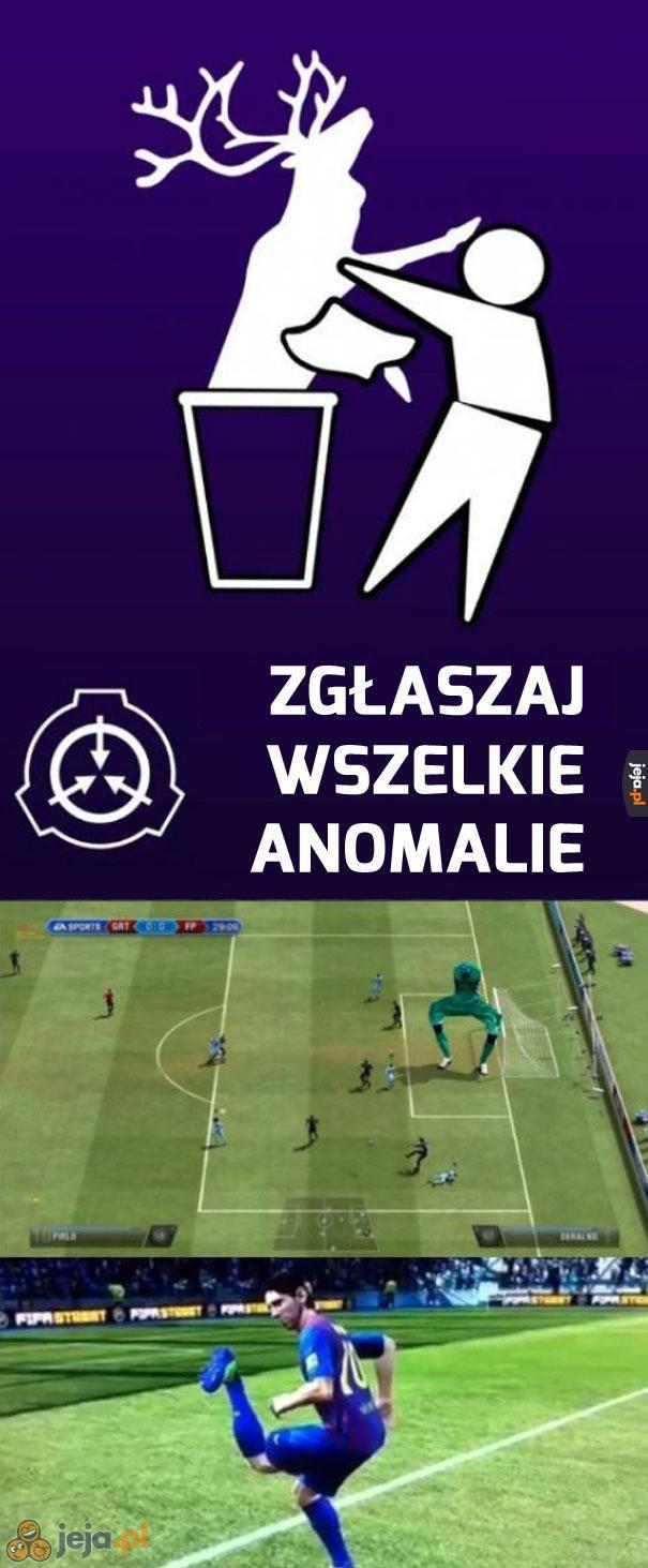 Futbolowe anomalie
