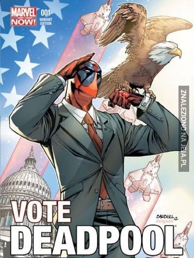 Głosujcie na Deadpoola