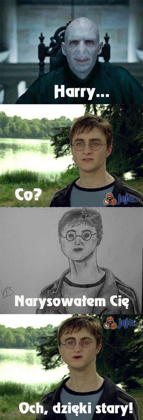 Rysunek Voldemorta