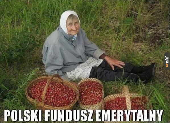 Polski fundusz emerytalny