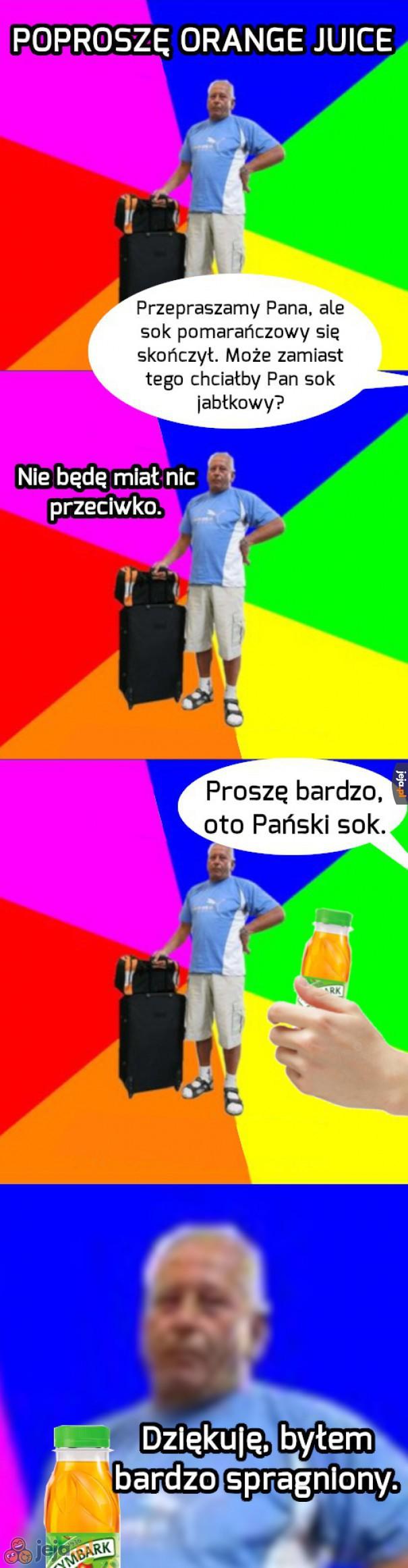 Prawdziwy lingwista z tego Janusza