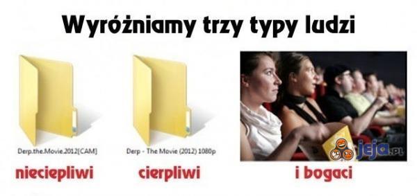 Trzy typy ludzi