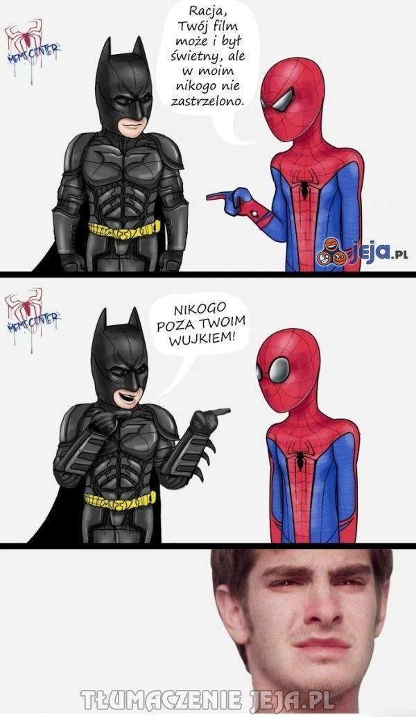 Batman potrafi dowalić