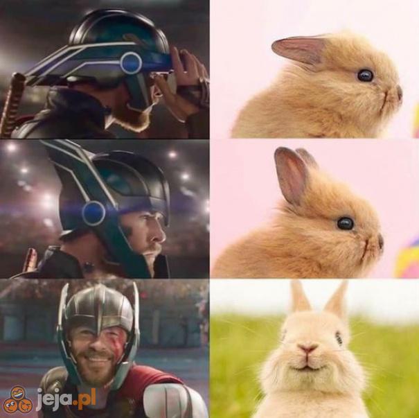 Kaskader Thora wygląda na profesjonalistę
