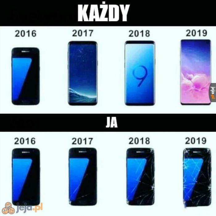 Z każdym rokiem telefony coraz droższe