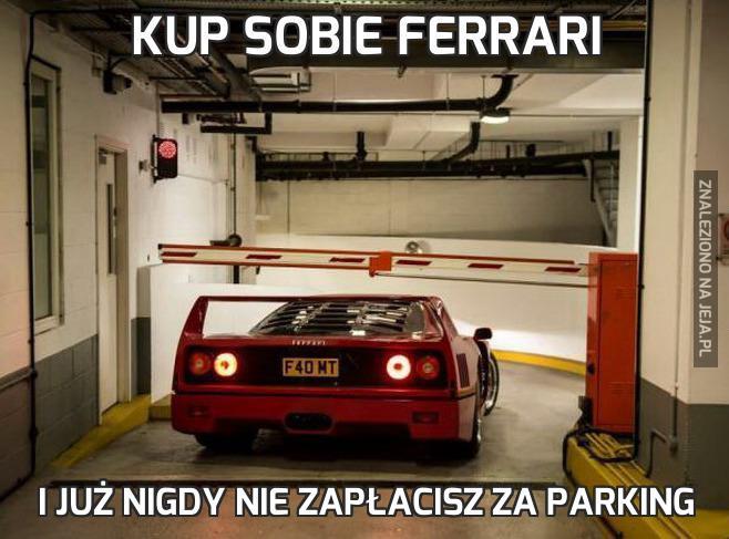 Kup sobie Ferrari