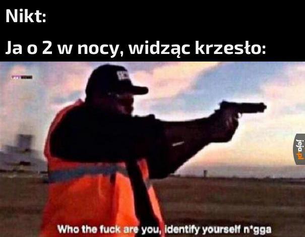 Nie znam cię!