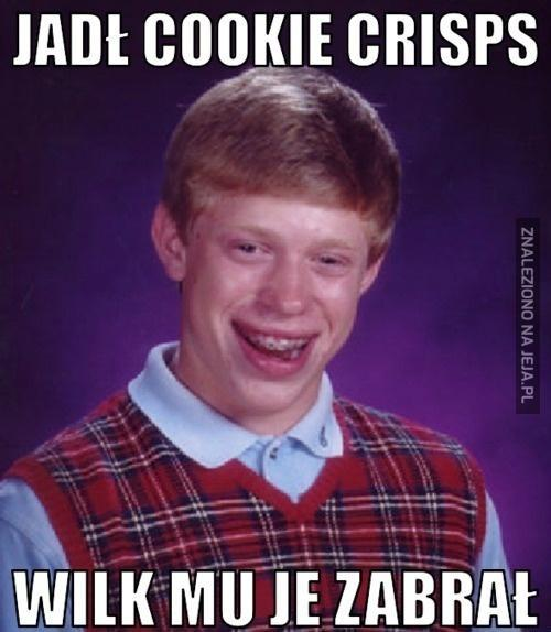 Jadł Cookie Crisps