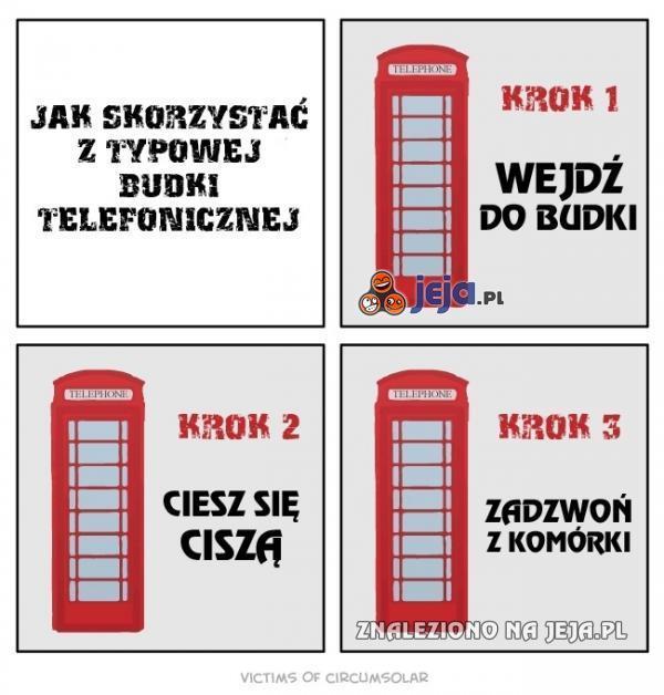 Jak korzystać z budki telefonicznej