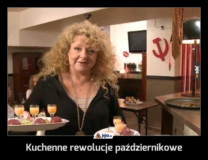 Kuchenne rewolucje październikowe